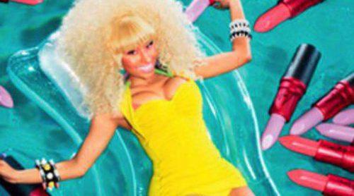 Nicki  Minaj colabora una vez más con la firma de cosméticos M.A.C