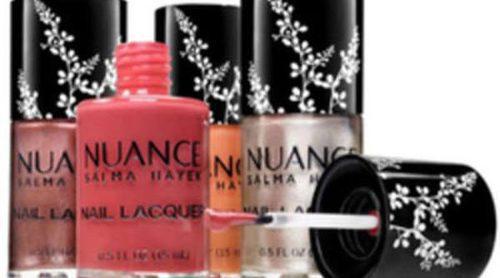 Salma Hayek lanza una nueva línea de esmaltes de uñas con su firma Nuance
