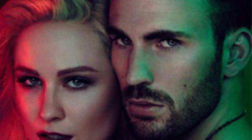 Chris Evans y Evan Rachel Wood, imagen del nuevo perfume 'Gucci Guilty Black'