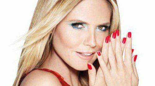 Heidi Klum presenta la nueva colección de esmaltes de uñas de Astor