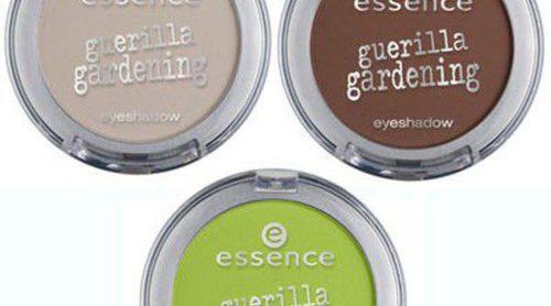 Essence lanza la edición limitada de maquillaje 'Guerrilla Gardening'