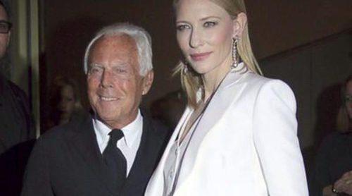 Giorgio Armani presenta su nueva fragancia 'Si' junto a Cate Blanchett