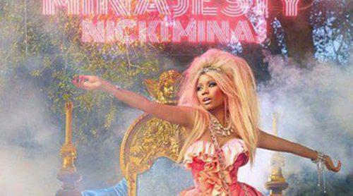 La cantante Nicki Minaj lanza la imagen promocional de su perfume 'Minajesty'