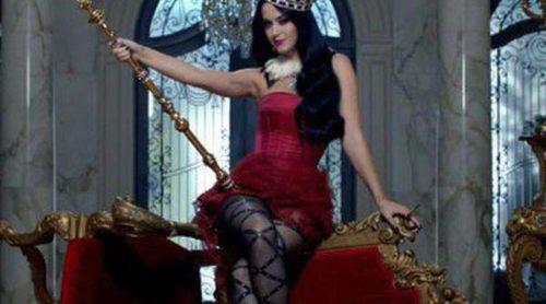 Katy Perry, muy rebelde en el spot de promoción de 'Killer Queen'