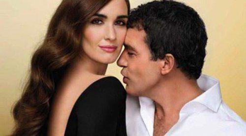 Paz Vega y Antonio Banderas presentan 'Su secreto dorado'