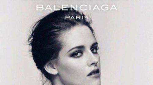 Balenciaga continúa apostando por Kristen Stewart como imagen de 'Florabotanica'