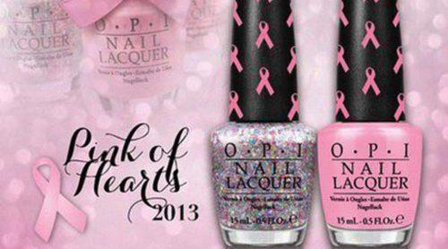 OPI se suma a la lucha contra el cáncer de mama con su línea 'Pink of Hearts'