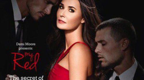 Demi Moore presenta 'My Red', su nueva fragancia en colaboración con Oriflame