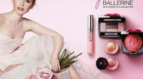Ve la luz la campaña 'French Ballerine' de Lily Collins para Lancôme
