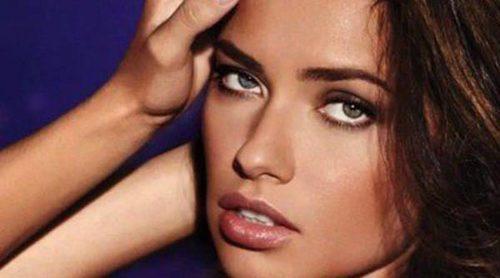 Una sexy Adriana Lima promociona 'Night' de Victoria's Secret
