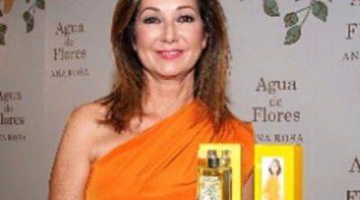 Ana Rosa Quintana presenta nuevo perfume bajo el nombre 'Agua de Flores'