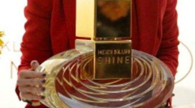 La modelo Heidi Klum presenta su perfume 'Shine'