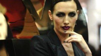 El maquillaje 'esmoquin' de Nieves Álvarez