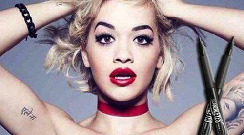 Rita Ora se convierte en imagen del eyeliner 'Scandal Eyes' de Rimmel London