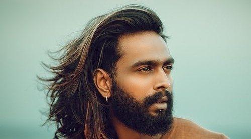Peinados para hombres con el pelo largo