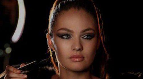Candice Swanepoel derrocha sensualidad con 'Max Factor Excess Volume Mascara'