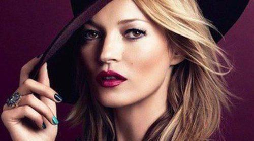 Kate Moss repite como imagen de Rimmel London y presenta su nueva colección