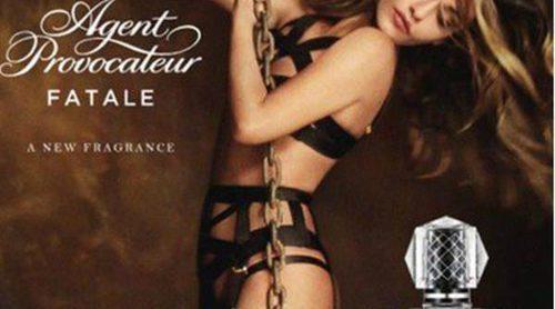 Mónica Cruz vuelve a posar para Agent Provocateur, esta vez para la campaña de su perfume