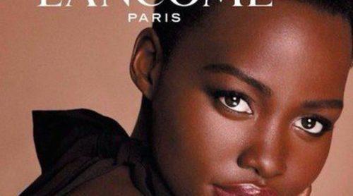 Lupita Nyong'o y su perfecta piel de ébano posan en la primera campaña para Lancôme