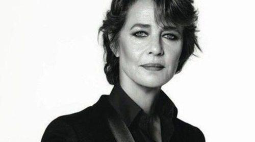 Primera imagen de la actriz Charlotte Rampling como nueva embajadora de Nars