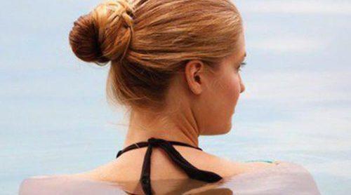 ¿Cómo afecta el cloro al cabello teñido?