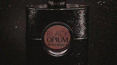 Edie Campbell, guapísima en la campaña para 'Black Opium' de Yves Saint Laurent