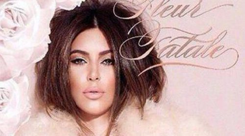 Kim Kardashian lanza su séptima fragancia, 'Fleur Fatale'