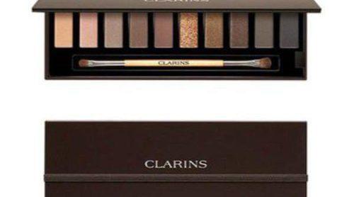 Clarins lanza una paleta de sombras de lo más navideña para este invierno 2014