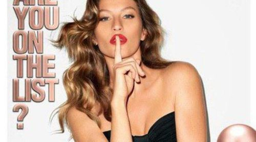De Chanel a Carolina Herrera: Gisele Bündchen es la imagen de '212 VIP Rosé'
