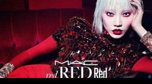 MAC presenta 'Red Red Red', el maquillaje perfecto para estas fechas