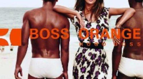Alessandra Ambrosio es la nueva imagen de 'Boss Orange'