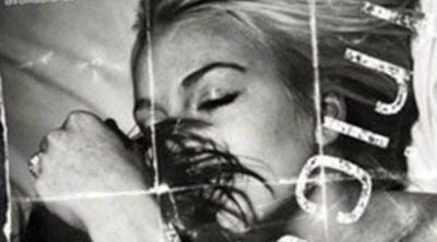 Lindsay Lohan y Petey Wright, desnudos y abrazados para la 'Friction' de French Connection