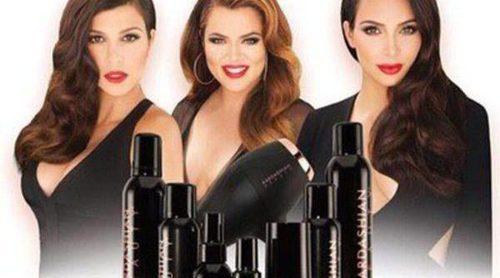 Las Kardashian sacan a la venta su propia colección de productos capilares