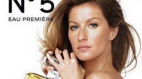 Gisele Bündchen se desnuda para Chanel nº5