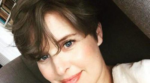 Cambio de look: Tania Llasera se estrena como morena