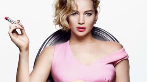 Jennifer Lawrence presenta 'Dior Addict Lipstick', la nueva línea de pintalabios de Dior