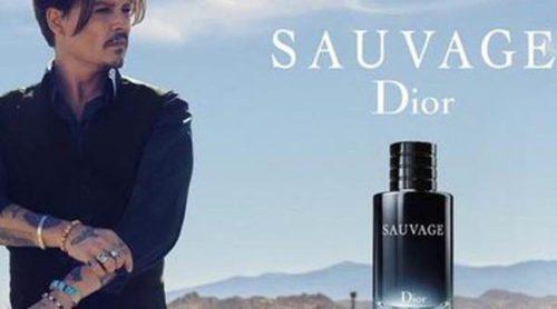 Johnny Depp presenta 'Dior Sauvage', el nuevo perfume masculino de Dior