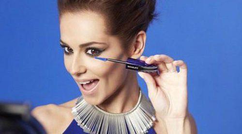 Estilo muy rocker de Cheryl Cole para False Lash Sculpt de L'Óreal