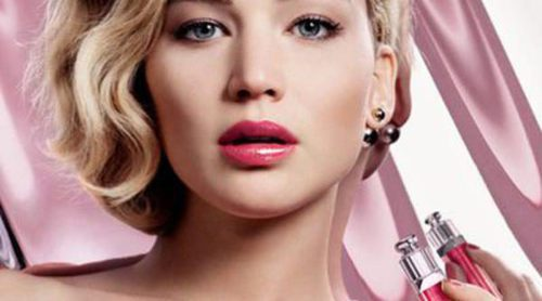 Jennifer Lawrence presenta los nuevos 'Ultra-Gloss 765' de Dior Addict