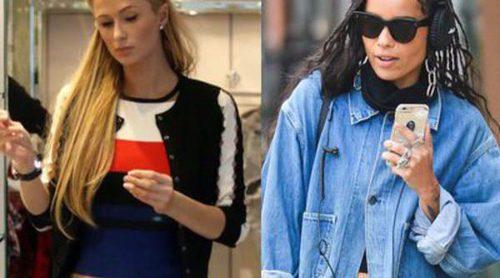 La melena de Paris Hilton y las trenzas de Zoe Kravitz: los mejores looks de la semana