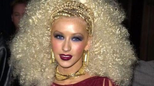 Los 5 peores peinados de Christina Aguilera