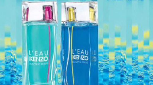'L'Eau Kenzo' celebra su 20 cumpleaños con 2 nuevos aromas: 'Electric Wave for Men' y 'Electric Wave for Woman'