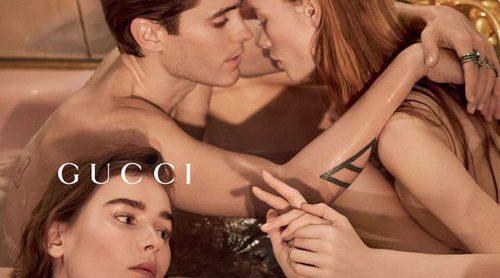 Jared Leto imagen de 'Guilty', el nuevo perfume de Gucci