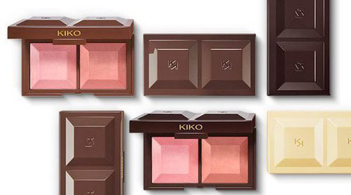 Kiko lanza una colección de coloretes guardados en una tableta de chocolate