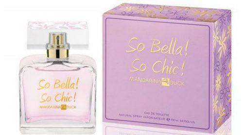 Mandarina Duck estrena una nueva fragancia floral: 'So Bella! So Chic!'