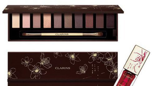 La nueva paleta y aceite de labios de Clarins para esta Navidad cuida el medioambiente