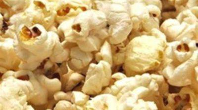 Las palomitas de maíz son tan sanas como la fruta