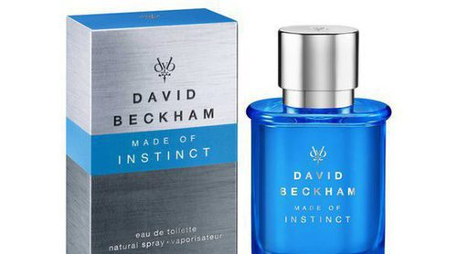 'Made of Instinct', el nuevo perfume de David Beckham