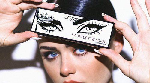 Kristina Bazán estrena su nueva colección de maquillaje para L'Oreal Paris