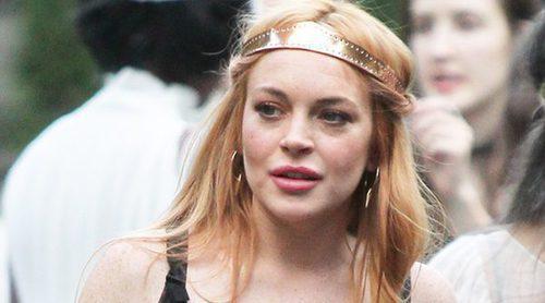Los peores peinados de Lindsay Lohan